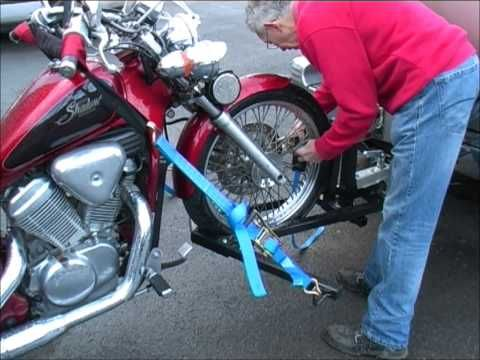 Cycle-Tow's Motorcycle Trailer Tow Bar | Motorcycle Tow Dolly - YouTube