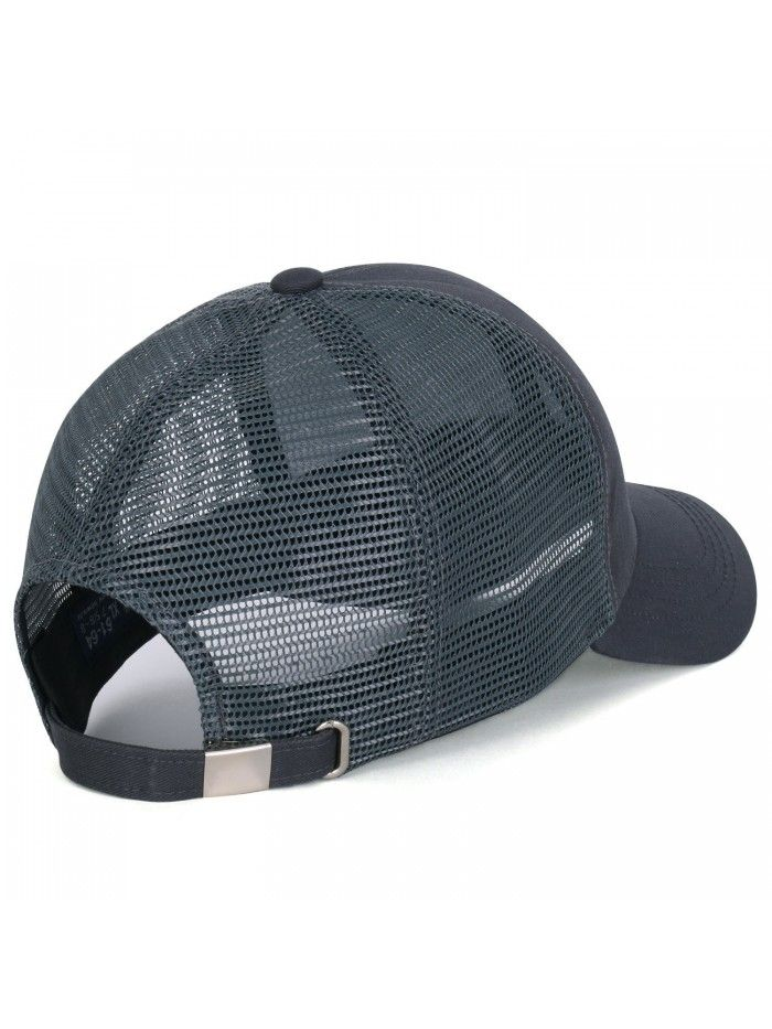 e04aebb652d Extra Big Size Adjustable Mesh Back Curved Baseball Cap Trucker Hat ...