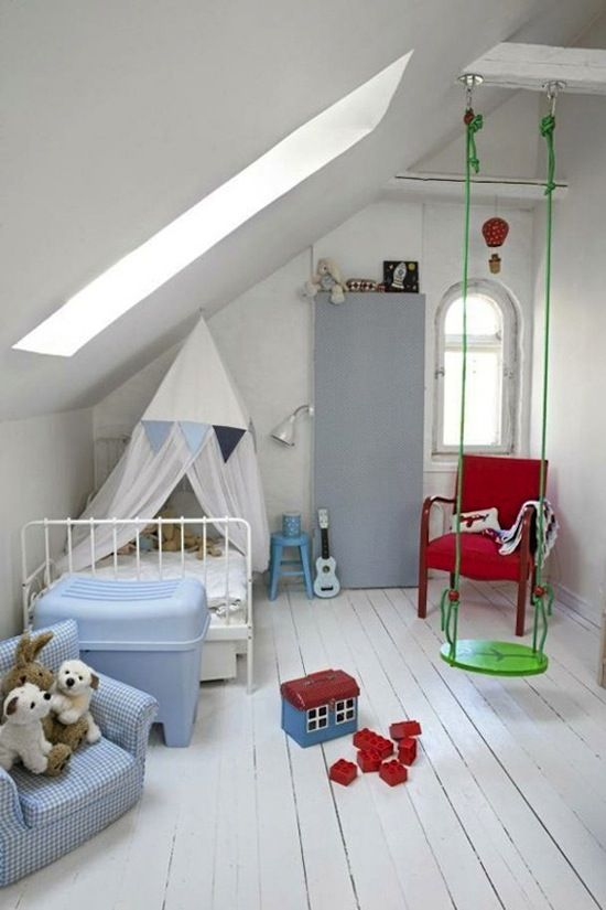 Kids, Bay Bed Set Plan With Iron Remodel Design Also Red Chair Remodel  Design Also Glass Window Design Idea Also Blue Chair Design Small Green  Swing Mode ...