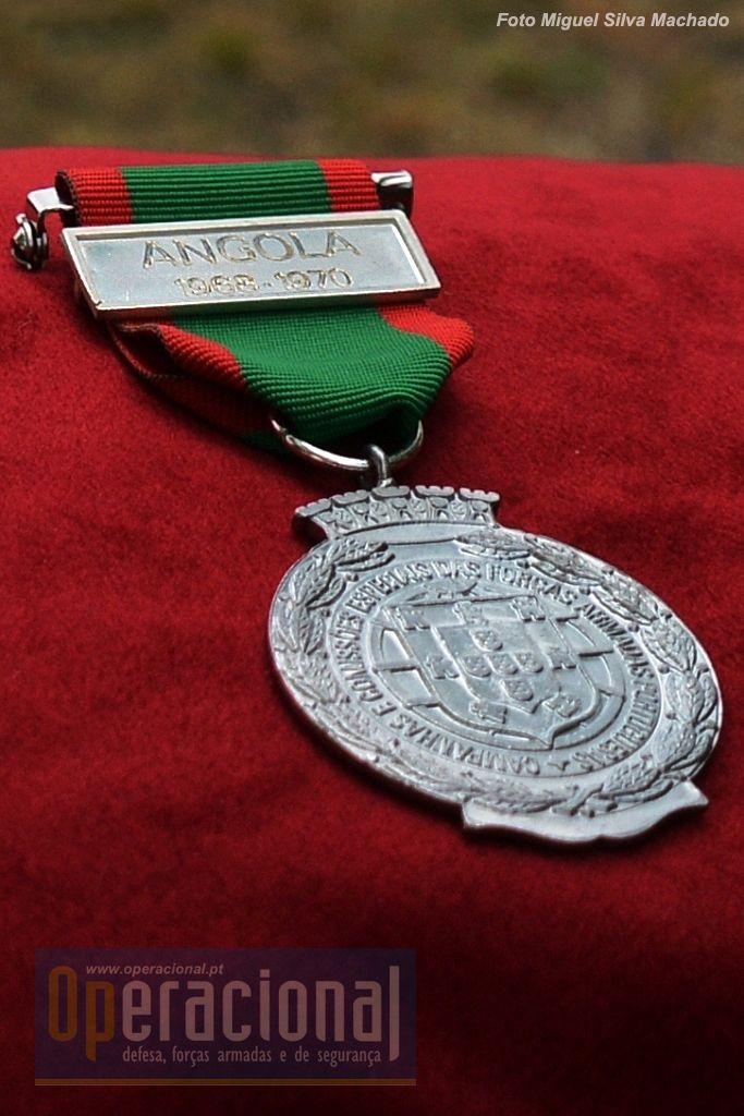 Portuguese Military Service Medal - Angola 1968-1970