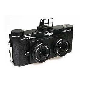 Holga 120-3D Pinhole Stereo Camera for 3D Lomography