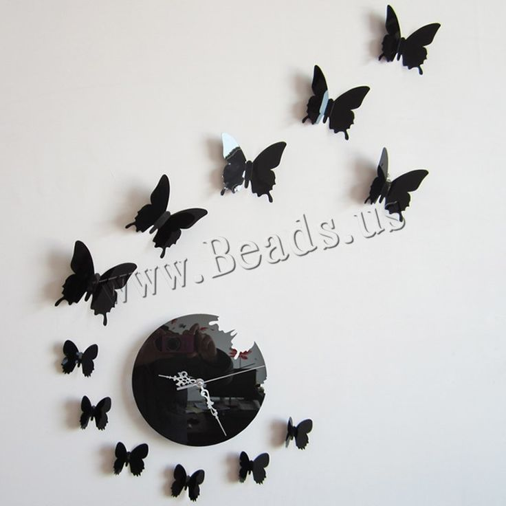 PVC Plastic Wall Stickers, Butterfly
