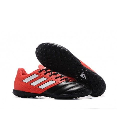 Adidas Hombres ACE 17.4 TF Zapatillas Futbol Sala Rojo Negro Blanco Botas De Fútbol