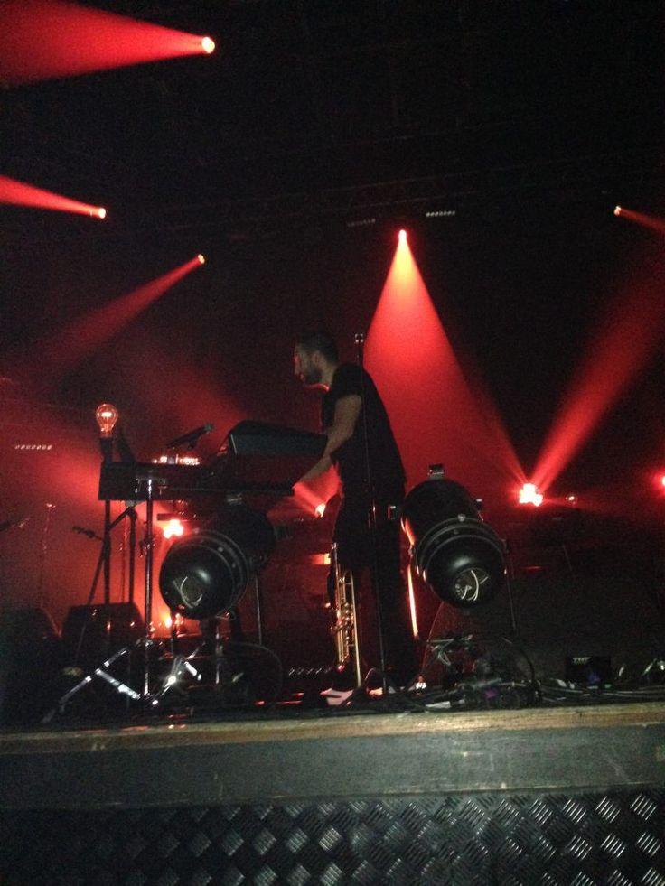 Concert tournée Red&Black Light #Grenoble 7 décembre 2016