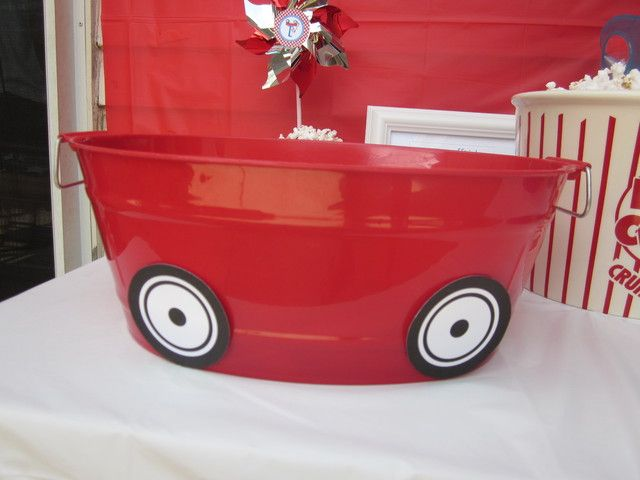 little red wagon Birthday Party Ideas | Photo 28 of 45 | Catch My Party