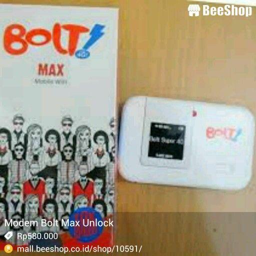 Modem Bolt! Max Unlock untuk semua operator harga 580.000 free ongkir ...