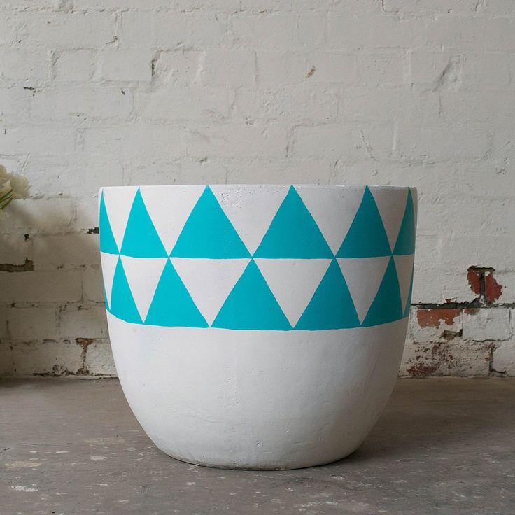 Aztec Pot - Blue | $190.00