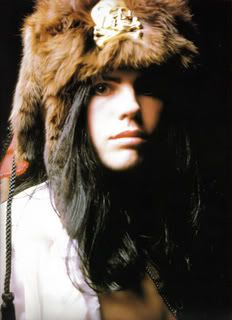 Ian Astbury. Vocalist of The Cult and a Native man. mmm!
