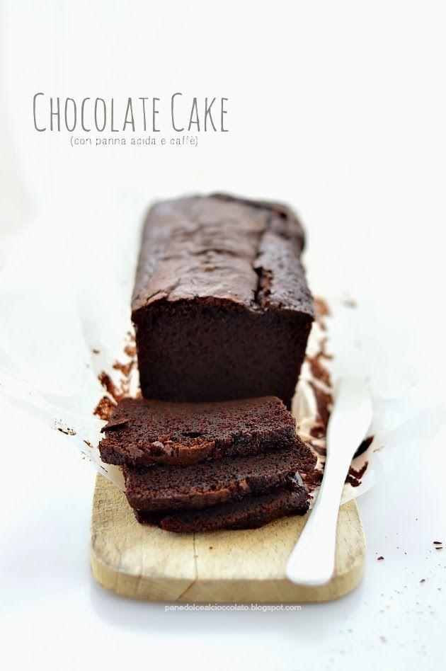 PANEDOLCEALCIOCCOLATO: gâteau au chocolat ... Gâteau au chocolat Avec crème sûre et du café verser la Saint-Valentin sans cœur!