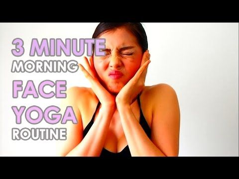 9 MOST EFFECTIVE FACE YOGA POSES TO LOOK 10 YEAR YOUNGER โยคะใบหน้า 9 ท่า หน้าเด็กลงกว่า 10 ปี - YouTube