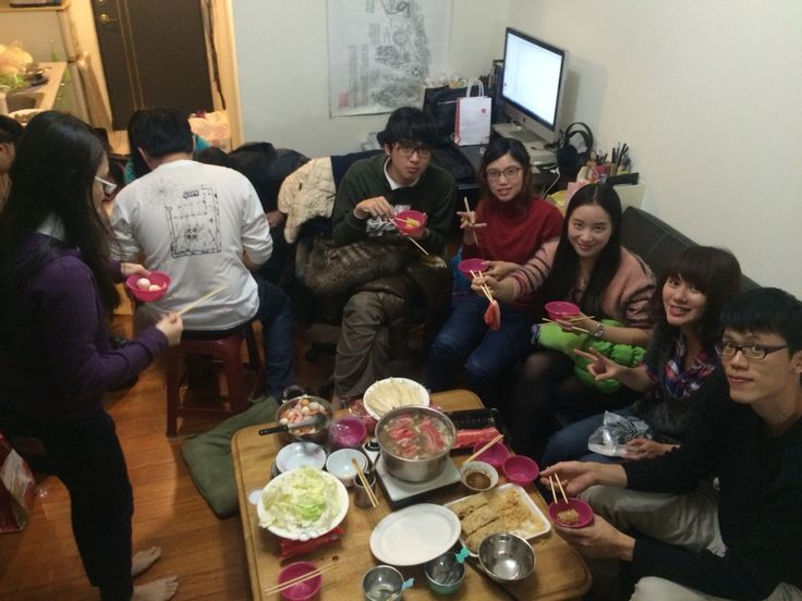 A party at my home
