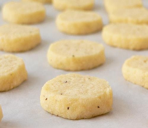 Receta de galletas de queso saladas