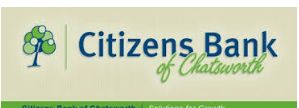 Citizens Bank of Chatsworth Online Banking Login | Login Citizens Bank of Chatsworth