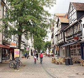 Am Magnitor 2005, Richtung Magnitorwall, Braunschweig