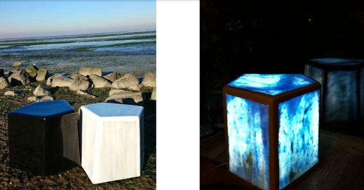 Fiberglass Basalt light object