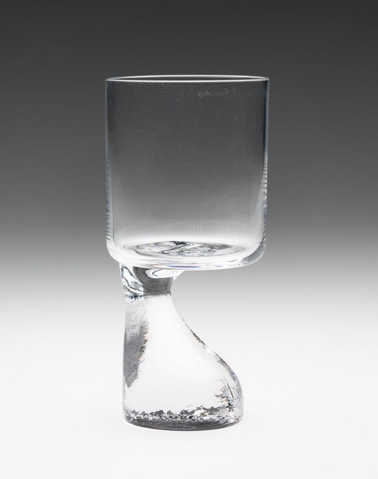 Joe Colombo . asimmetrico glass, by Riedel, 1964