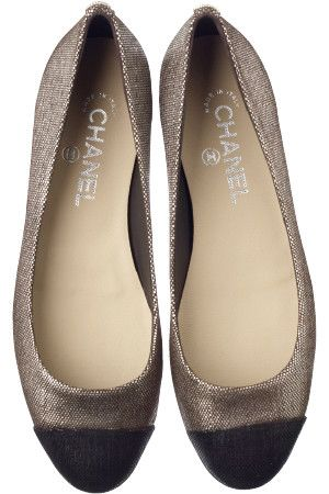 Two-tone ballerina flats / Chanel