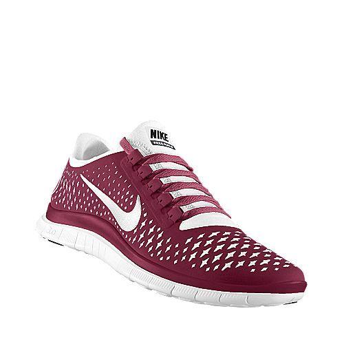 Nike Free Run. Maroon. Gotta get ready for TAMU.