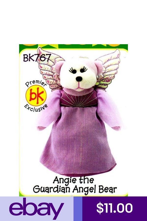 "SKANSEN BEANIE KID /""ANGIE THE GUARDIAN ANGEL BEAR/""   MWMT"
