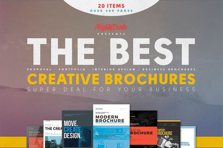 20 Creative Brochures from Kovalski Design
