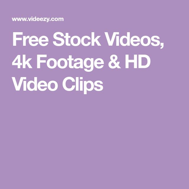 Free Stock Videos, 4k Footage & HD Video Clips