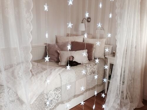 Curtains Around Bed. Home Style 2 Pinterest