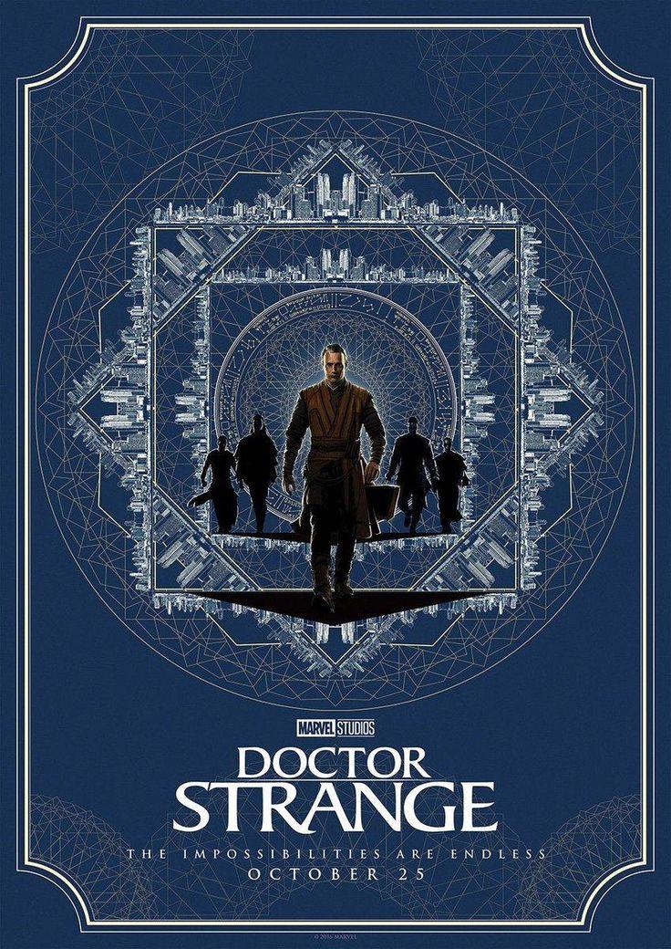 Doutor Estranho – Divulgados novos pôsteres belíssimos do filme! - Legião dos Heróis