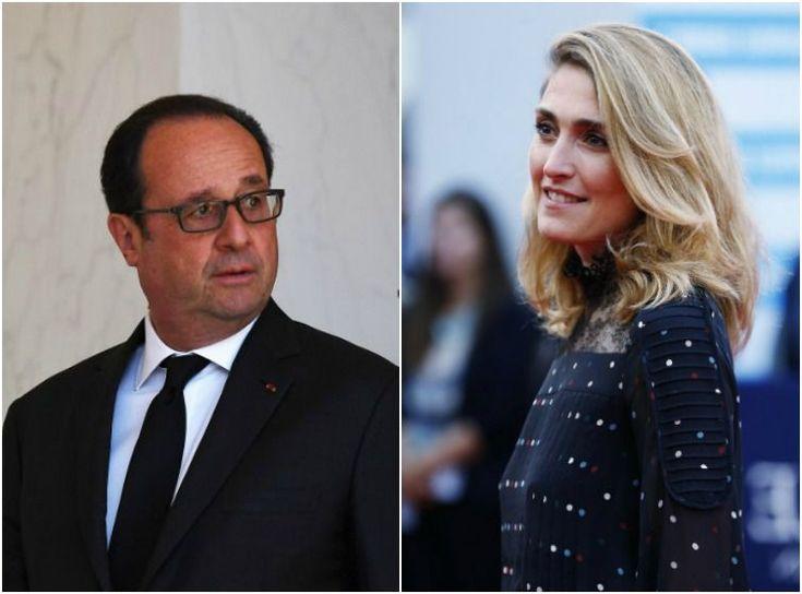 Photos François Hollande et Julie Gayet surpris main dans la main à la Lanterne.