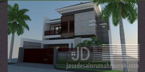 Rumah Ibu Santi di Papua, konsep desain minimalis modern luas lahan 220 m2