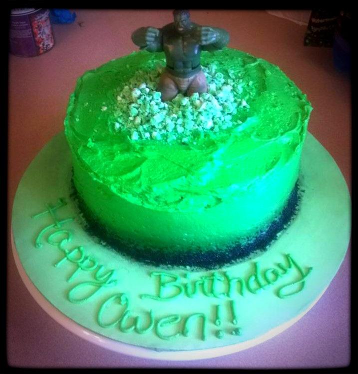 Incredible Hulk Cake  sunshine cakery  Pinterest  Hulk cakes, Posts ...
