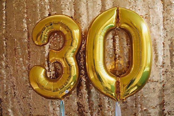 Birthday Baloons 40inch / 100CM high quality by inspiredcompany4u