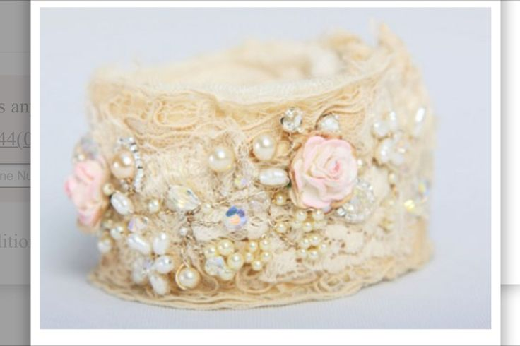 A cuff to go with my wedding dress perhaps?