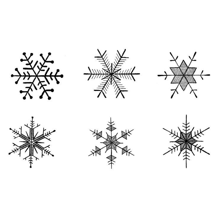Snowflakes 1419H