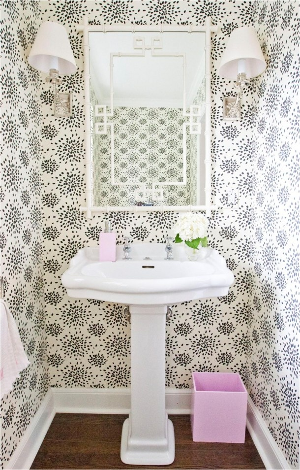 Cute For A Bathroom With Images Dining Room Wallpaper Bathroom Decor Room Wallpaper