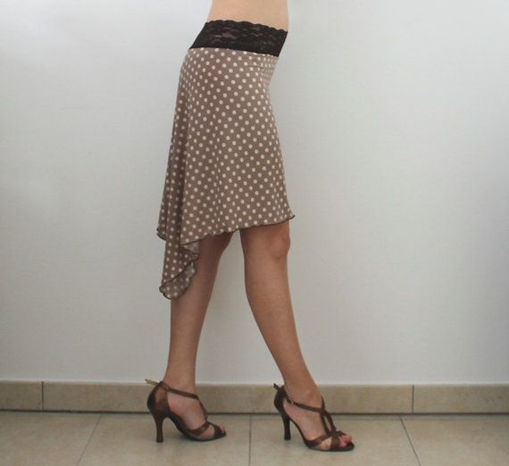 Polka Dots Rock für tanzen Tango Milonga von CrinolinAtelier
