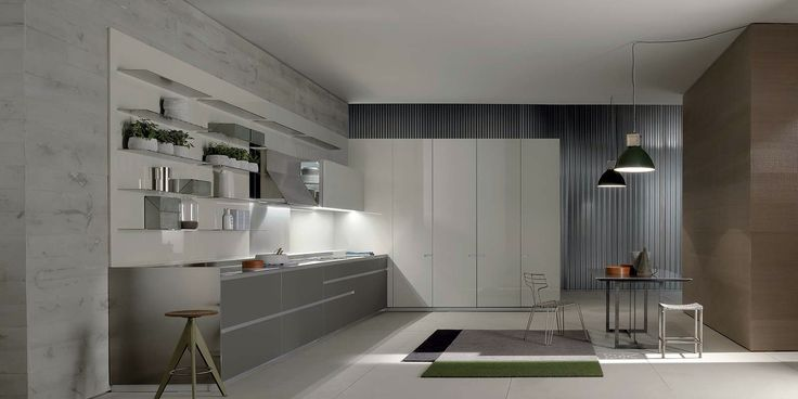 Icon has been created using solutions of great technical value and strong visual impact, finishing elements capable of modifying the sense of comfort and giving the kitchen an interpretation which is not only aesthetic, but also tactile. #ernestomeda #kitchens #kitchendesign #functionality #vesuvio