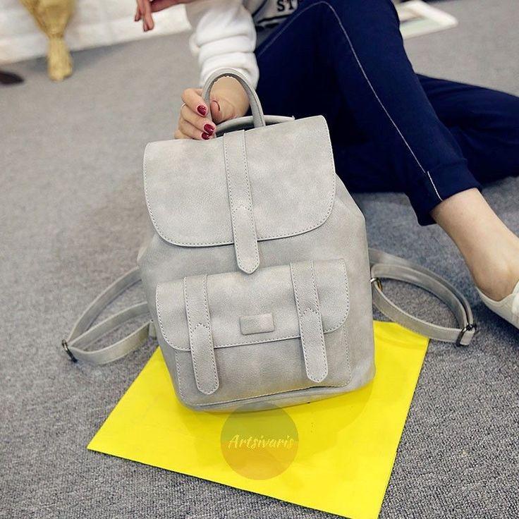 Artsivaris Vintage Women's Leather Backpack Travel Rucksack School Shoulder Bag | eBay