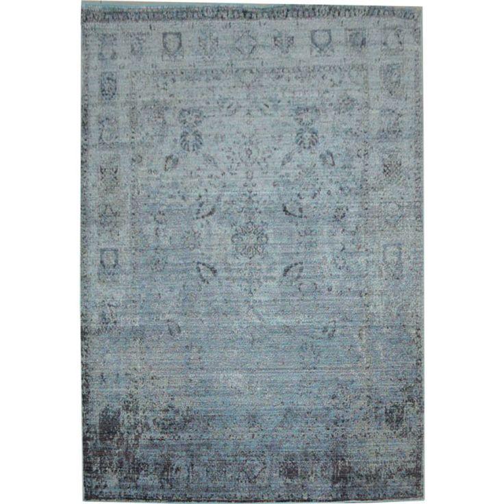 Χαλιά Καλοκαιρινά 160x230cm QUANTUM G433A BEIGE-BLUE