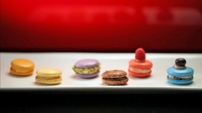 Nic and Rocco's Macarons from My Kitchen Rules Australia: http://tvnz.co.nz/my-kitchen-rules/nic-and-rocco-macarons-5124459 #macarons #recipe #cooking #dessert