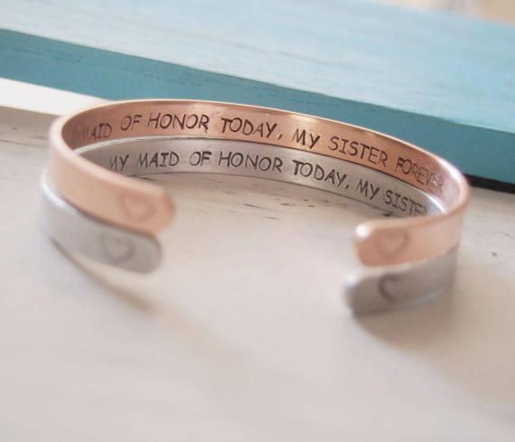 Maid of honor gift sister Maid of honor Proposal Will you be