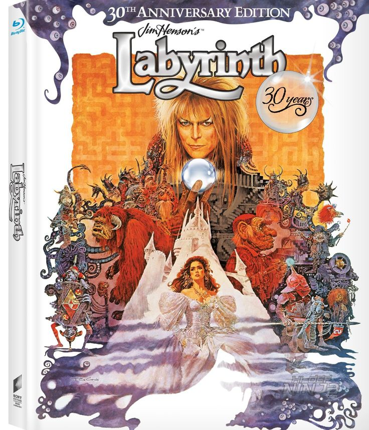 Labyrinth is celebrating its 30th anniversary! This means a Blu-Ray and 4K HD release. Additional features include ALL NEW The Henson Legacy Featurette, Labyrinth Anniversary Q&A, and The Goblin King Featurette. Original content includes Inside the Labyrinth Documentary, the theatrical trailer and plenty more. A must have for Labyrinth fans! #labyrinth30anniversary #labyrinth