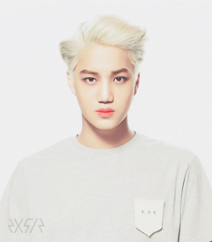 EXO Stardium Photocards Kai! cr: 2x5=12