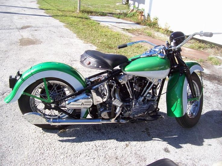 44 Harley Davidson Knuckleheads Harleyknuckleheads Knucklehead Picture 1938 Side Pictures