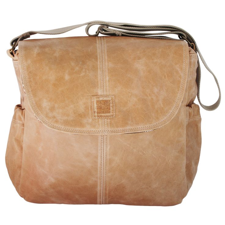 Peppertree leather nappy bag