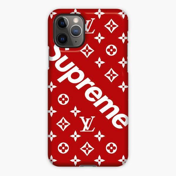 Supreme X Louis Vuitton Pattern Iphone 11 Pro Max Case Louis Vuitton Phone Case Pretty Iphone Cases Custom Iphone Cases