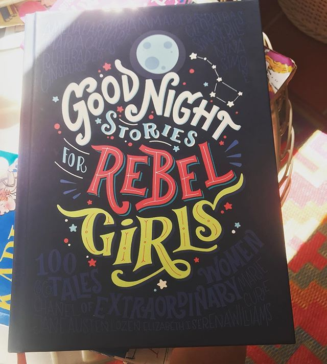 The perfect #book to read with my Hope this #internationalwomensday if you havent read it to your 9 daughter yet I can highly recommend it  #goodnightstoriesforrebelgirls #feminist #bookstagram #thoughtleader #mariasarahyogaandmusic