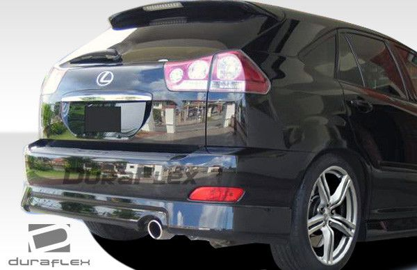 2004-2009 Lexus RX Series RX330 RX350 RX400 Duraflex Platinum Rear Lip Under Spoiler Air Dam - 1 Piece