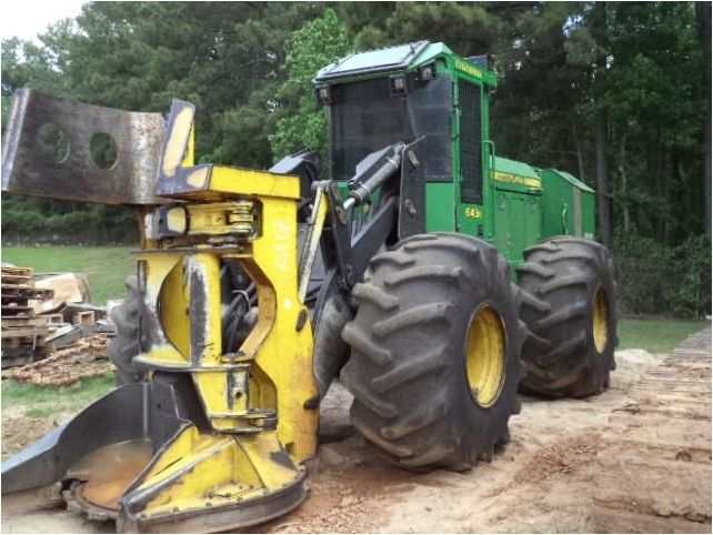 Our featured #FellerBuncher is a 2011 #JohnDeere 643K, Cab with A/C, Lever Steer, Heavy Duty Axles, 3,585 Hrs. We have great selection of #Forestry & #Logging Equipment that are ready to go to work for you! You can view them all at: http://www.rockanddirt.com/equipment-for-sale/ALL-logging-forestry #HeavyEquipment #RockandDirt