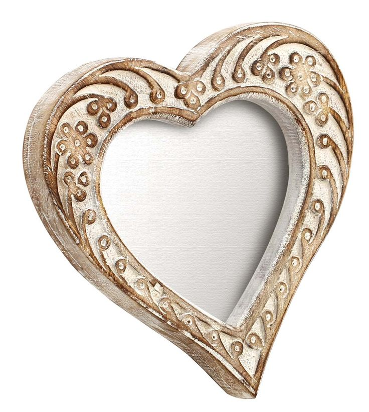 buy shabby chic picture frame in bulk u2013 wholesale handmade distressed finish heart shaped wall hanging