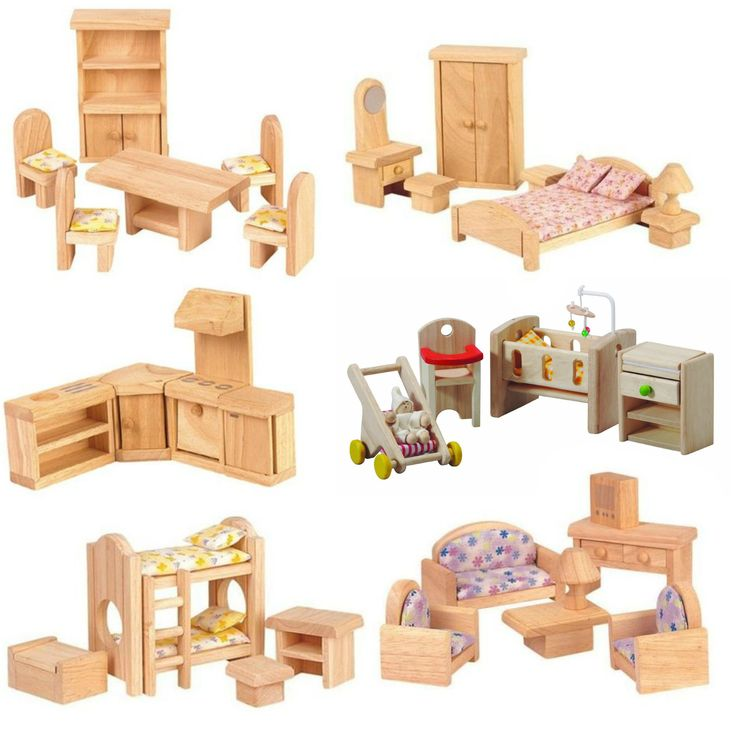 17 best ideas about dollhouse furniture sets on
